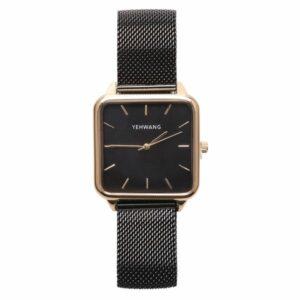 Statement horloge zwart