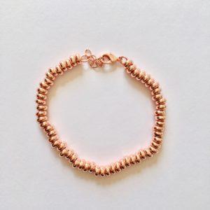 Fijne armband rose goud