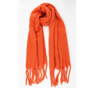 Warme-zachte-sjaal-oranje
