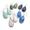 grote edelsteen oorbellen rozenkwarts blue chalcedony aqua chalcedony labradoriet lapis lazuli 925 zilver.JPG