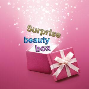 surprisea beauty box cosmetica zonnig zilver